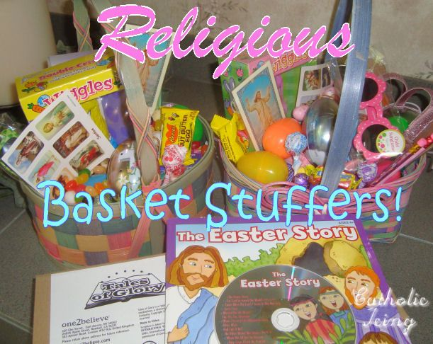 25 best catholic easter basket ideas images on pinterest catholic give more meaning to easter check out these religious basket suffers that wont break the negle Gallery