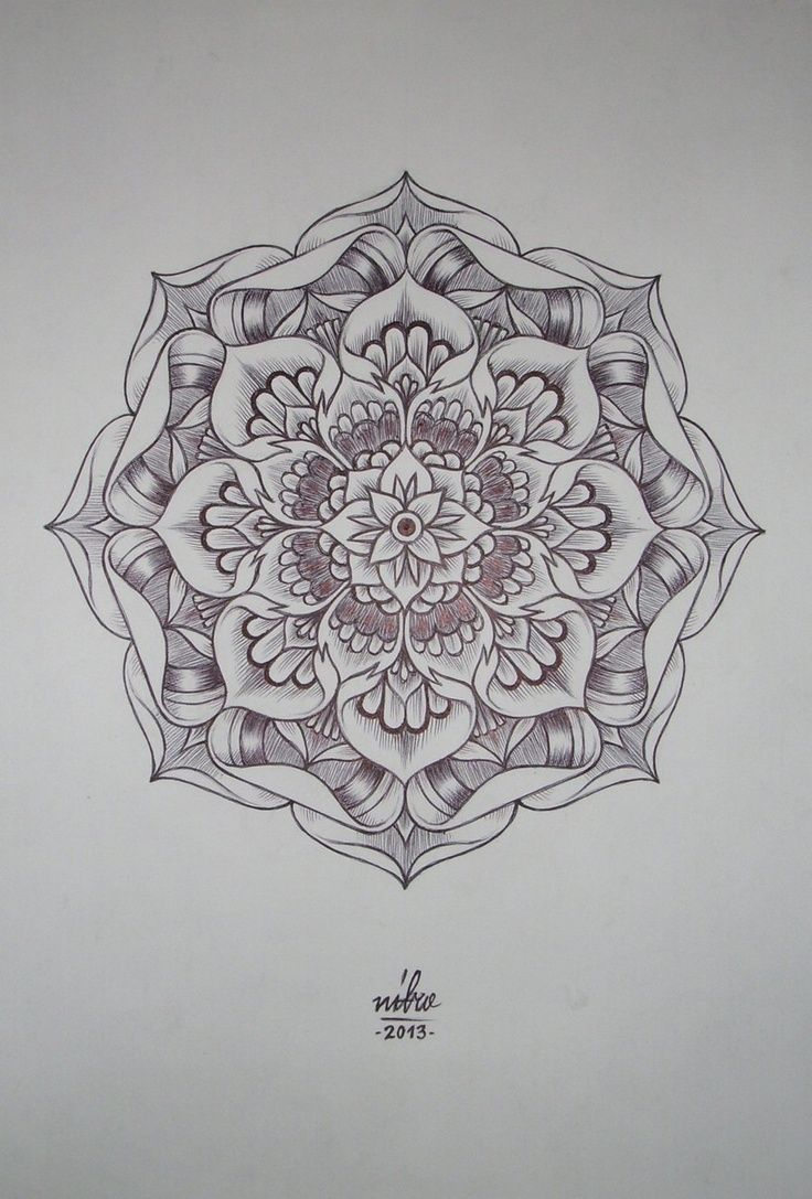Mandala fleur de lotus galerie tatouage - Tatouage fleur de lotus mandala ...
