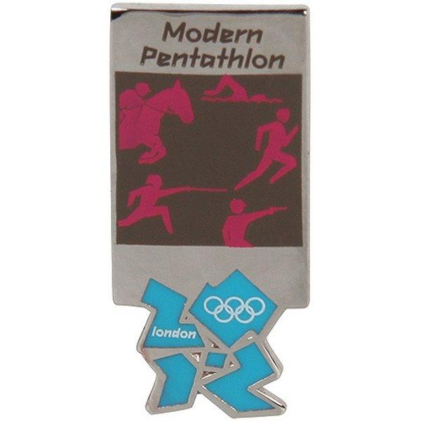 2012 Olympic Modern Pentathlon Pin