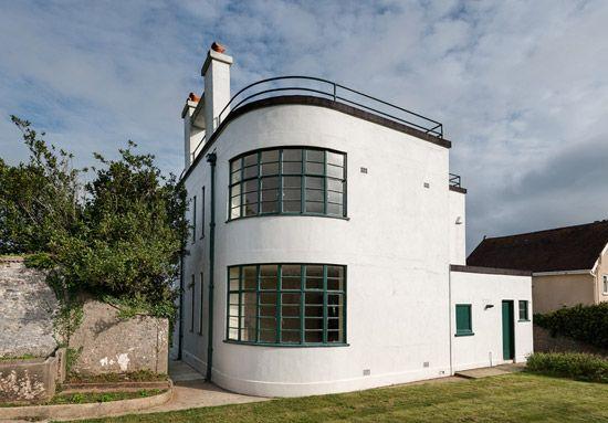 Melville aubin designed sunpark 1930s art deco property in brigham devon modernist - Deco moderne woning ...