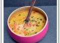 Soupe thaïlandaise de vermicelle aux crevettes