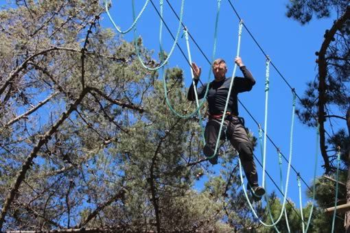 Adrenalin Forest High Ropes Course - Over 100 Challenges