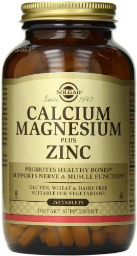 Solgar Calcium Magnesium Plus Zinc Tablets, 250 Count *** FIND OUT @ http://www.naturopathicmedicinelist.com/store/solgar-calcium-magnesium-plus-zinc-tablets-250-count/?b=9561