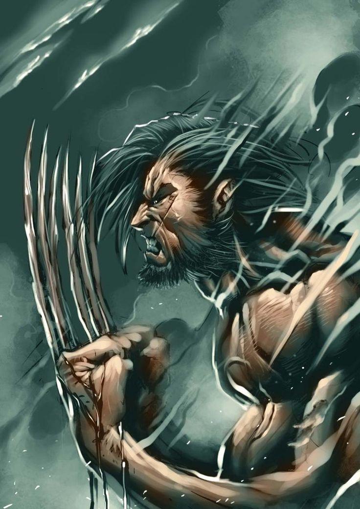 Wolverine quckie by *BrianFajardo on deviantART