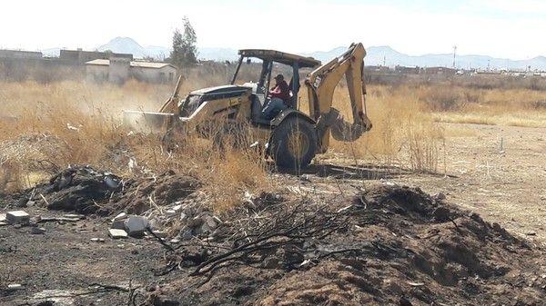 Limpia Gobierno Municipal 103 tiraderos clandestinos de basura   El Puntero