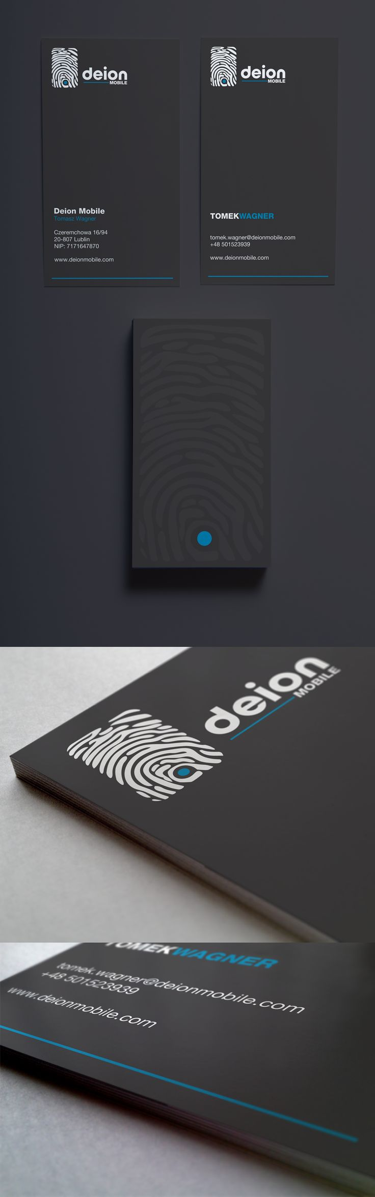 Deion Mobile | #Business #Card #letterpress #creative #paper #businesscard #corporate #design #visitenkarte #corporatedesign < repinned by www.BlickeDeeler.de