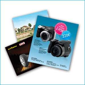 Offer marketing postcards today using our Postcard Printing Order form. The Print Center will work with you through the complete postcard printing process—from conception, to design, to finished product. We won't be satisfied unless you are.