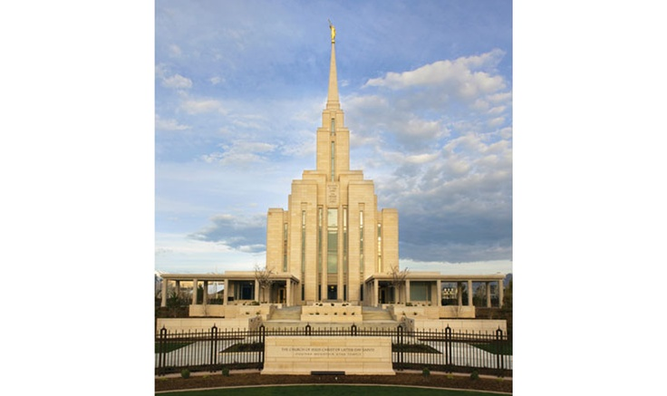 LDS Oquirrh Mountain Temple - South Jordan, UT
