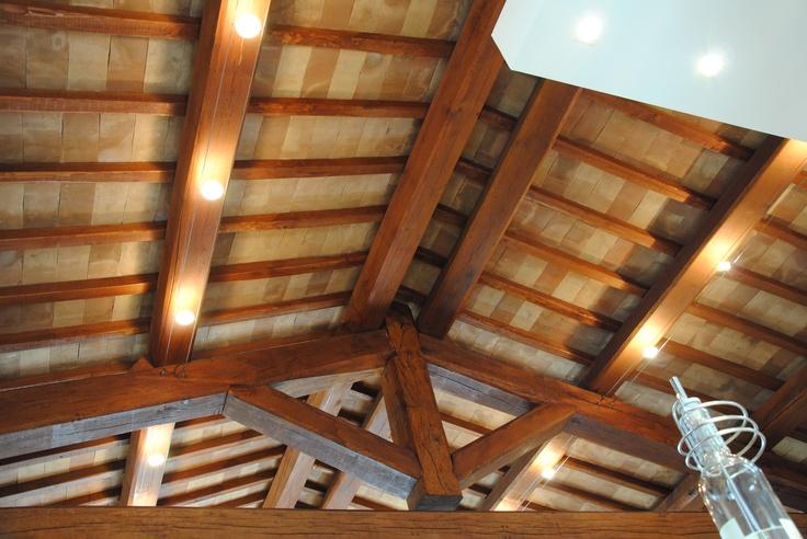 Un tetto importante...tavelle in cotto fatto a mano.