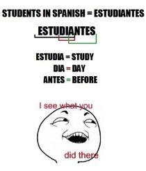 MEMES EN ESPANOL con preguntas    1. ¿Por qué es divertido?  2. ¿Alguna vez has hecho esto?  3. ¿Es una buena idea o una mala? ¿Por qué?  **Student submission**