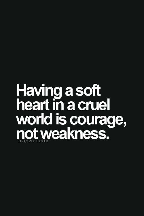 God desires a soft heart