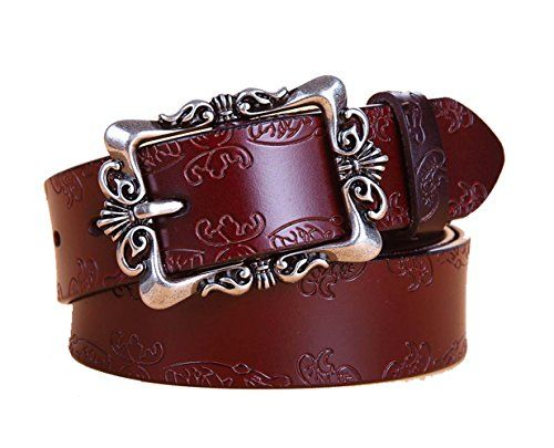 IVERIRMIN Classic Floral Embossed Women Leather Belts for... https://www.amazon.com/dp/B071YQQDVZ/ref=cm_sw_r_pi_dp_x_aKxdzbN40AEYX