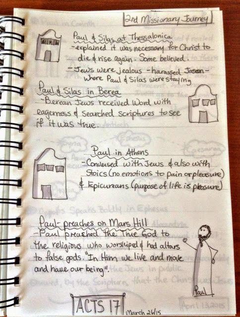 Stone Soup for Five: Inside Debbie's Bible Journal
