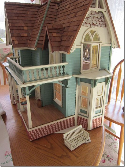 I wanted a dollhouse so badly when I was a littel girl and never got one. So, I have decided to be good to my inner child and get one as soon as I can. I have such an interest in miniatures so why should I live my life without having the full dollhouse experience?? I look forward to my later years being filled with this gorgeous hobby. Xxx