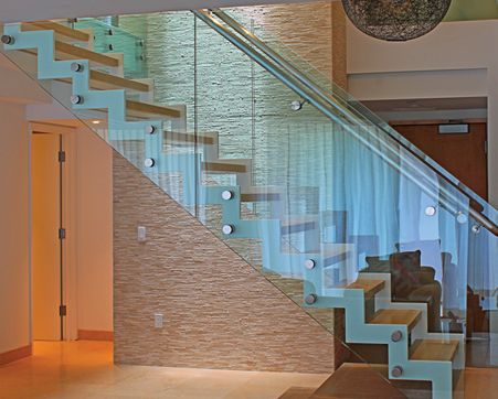 Frameless Glass Railing Systems : Glass Railings, Handrails, And Balustrades