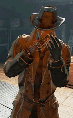 Fallout fallout 4 fo4 fo4 spoilers nick valentine wittless gif ...