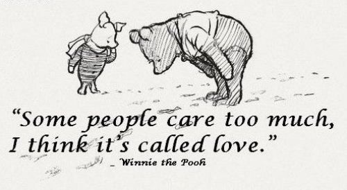 Winnie the PoohDisney Quotes, Pooh 3, Pooh Quotes, Pooh Lov, Pooh Bears, So True, Some People Care Too Much, Winnie The Pooh, Pooh Wisdom