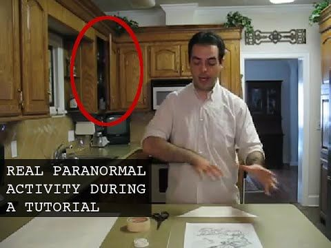 Real ghost videos: paranormal activity caught on tape in haunted house |...