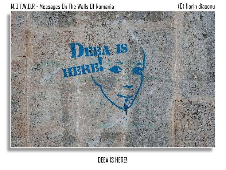Message: Deea is Here! Location: Somewhere between Apolodor Street and The Apostle Saints Street (Strada Sfintii Apostoli) - Bucharest