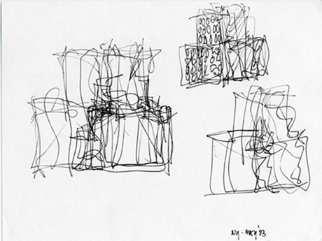 Architectural Sketch | Frank Gehry Sketches