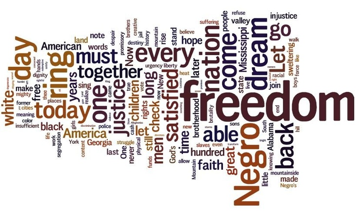 Explore this interactive image: I Have a Dream, by Dr. Martin Luther King Jr. by Susan Oxnevad. ThingLink.