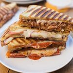 Mid week pick me up in the form of carbs and cheese  Grilled Cheese Sandwhiches three different ways with daiyafoods are on the blog BBQ Chicken Pepperoni Pizza and Turkey Apple  Swiss sammies the whole family will love And a dairy free option for anyone needing it sponhttpboysahoycomgrilledcheesesandwichesthreeeasyways