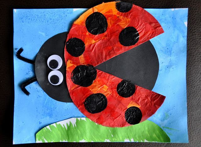 Ladybug Crafts for Preschoolers   from i heart crafty things an eric carle inspired grouchy ladybug