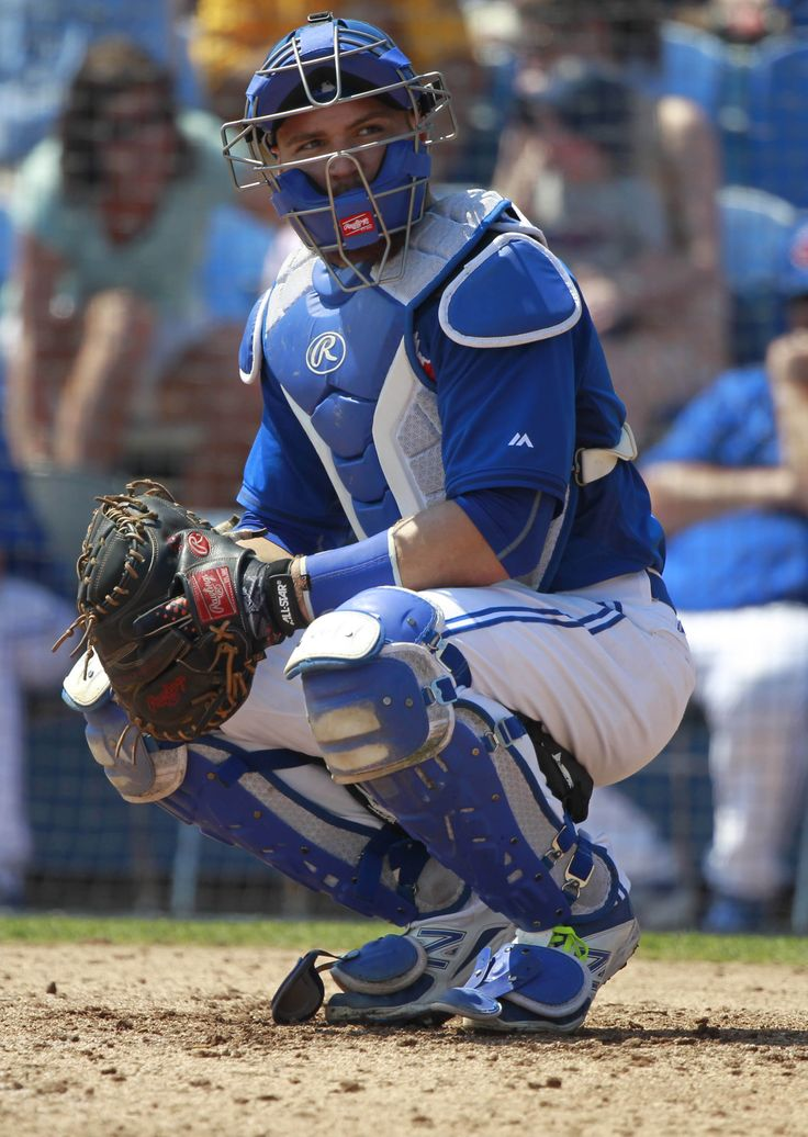 Toronto Blue Jays Russell Martin during Spring Training