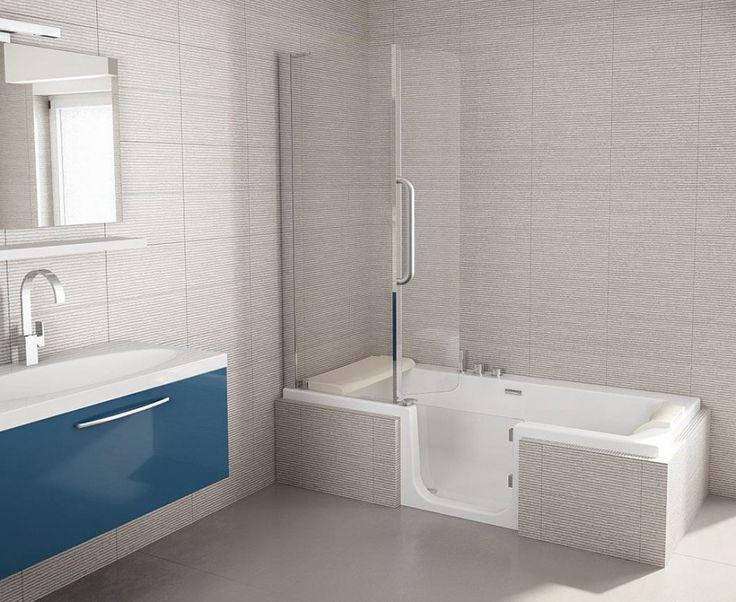 25 beste idee n over badkamer kleurenschema 39 s op pinterest badkamer kleuren badkamer kleuren - Deco toilet grijs ...