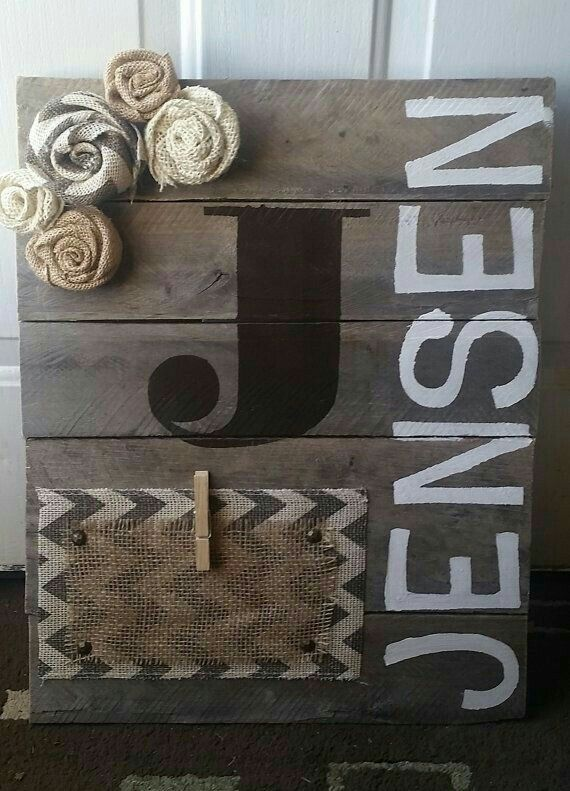 Personalized Wood Block Picture Holder