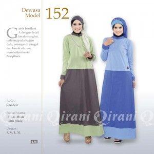 Baju Gamis Qirani Modis Model 152 Terbaru http://distromuslimah.net/baju-gamis-qirani-modis-model-152-terbaru/
