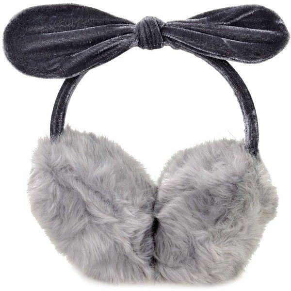 Simplicity Women's Faux Fur Fleece Winter Earmuffs Ear Warmers Fleece... ($9.99) ❤ liked on Polyvore featuring accessories and faux fur earmuffs