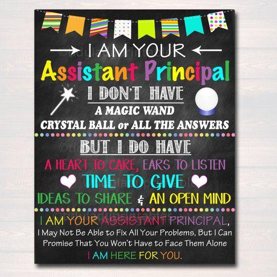 Assistant Principal Office Decor I Am Your Assistant Principal