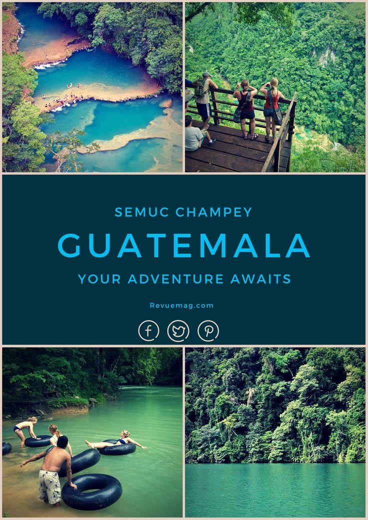Semuc Champey, Guatemala  #travel #vacation #holiday