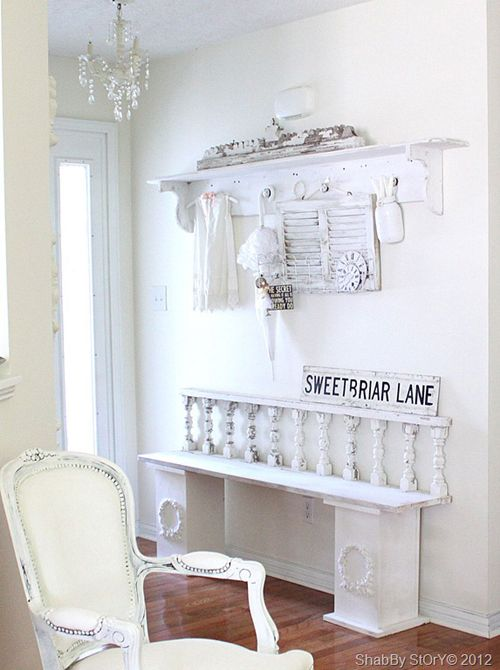 The 25  best ideas about shabby chic entryway on pinterest ...