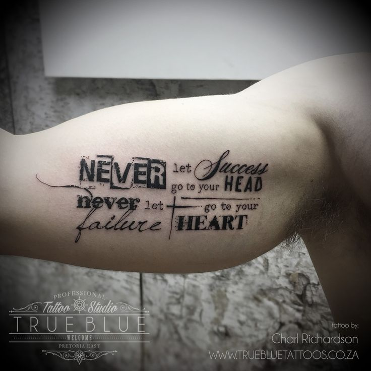 """Never Never"" by Charl Richardson of True Blue Professional Tattoo Studio"