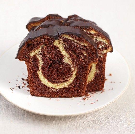 Marmorkuchen - Diese Prachtstück lieben große und kleine Kuchenfans.