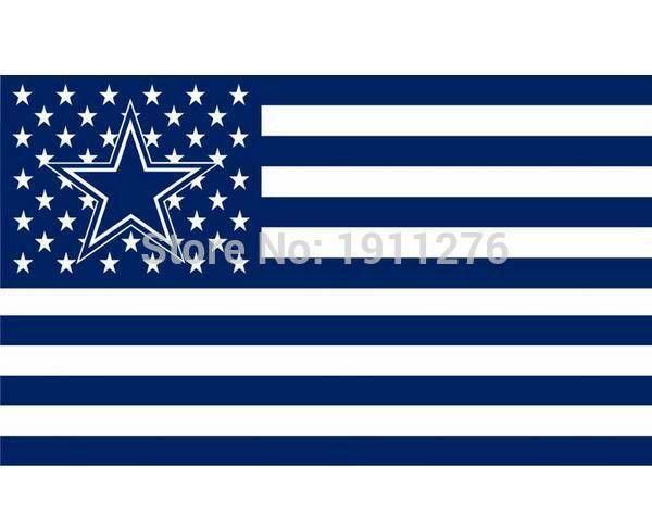 Dallas Cowboys American Flag