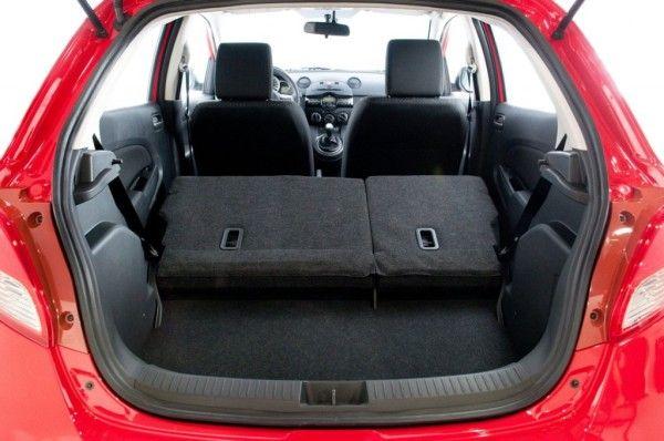 2014 Mazda MAZDA2 Reds Luggage