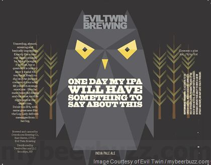 mybeerbuzz.com - Bringing Good Beers & Good People Together...: Evil Twin - One Day My IPA Will Have Something To ...