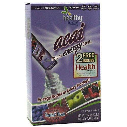 To Go Brands Acai Energy Boost Drink - 6 per pack -- 6 packs per case. ** Want additional info? Click on the image.