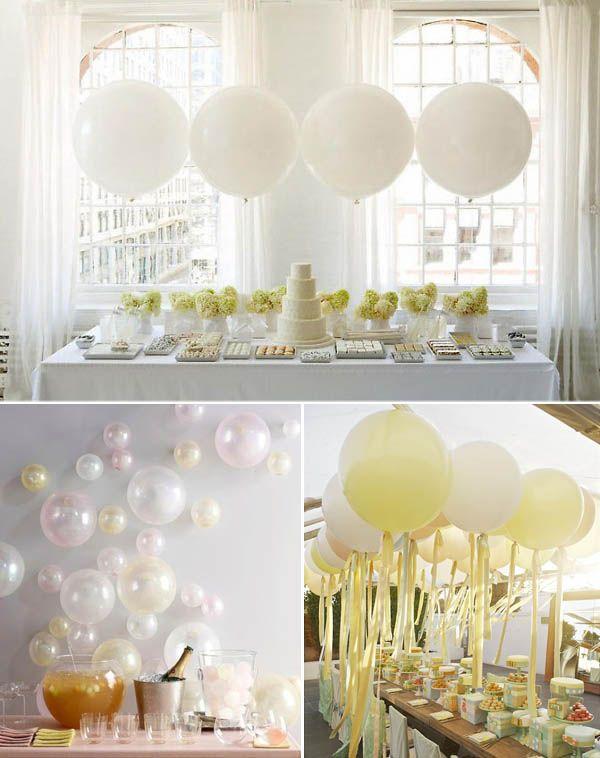 Super Oltre 25 fantastiche idee su Palloncini matrimonio su Pinterest  BY89