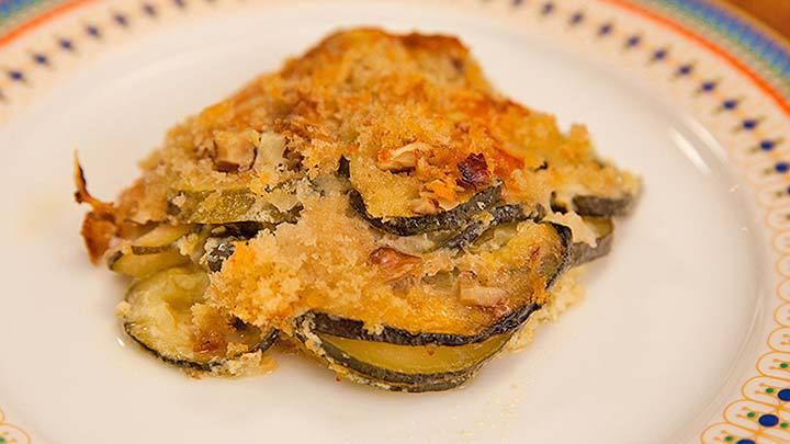 Zucchini Crumble Recipe from Everyday Gourmet with Justine Schofield