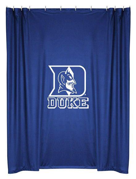 Duke Blue Devils NCAA Sports Coverage Team Color Shower Curtain #SportsCoverage #DukeBlueDevils