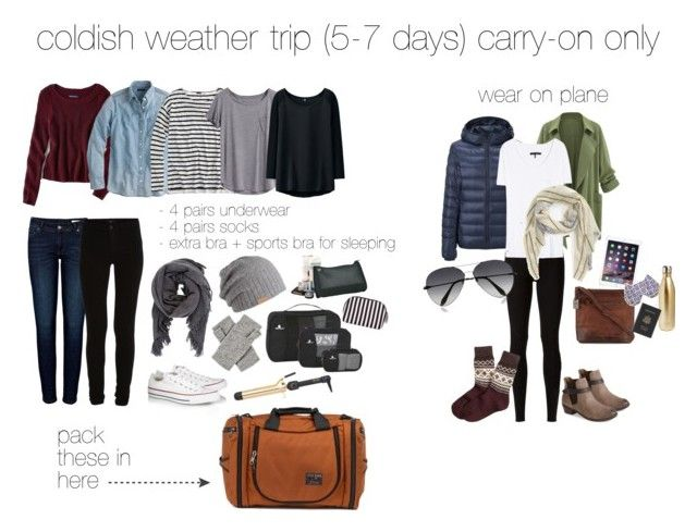 What I'd pack for a coldish weather trip lasting 5-7 days or more, all packed in a Tom Bihn Aeronaut 30!