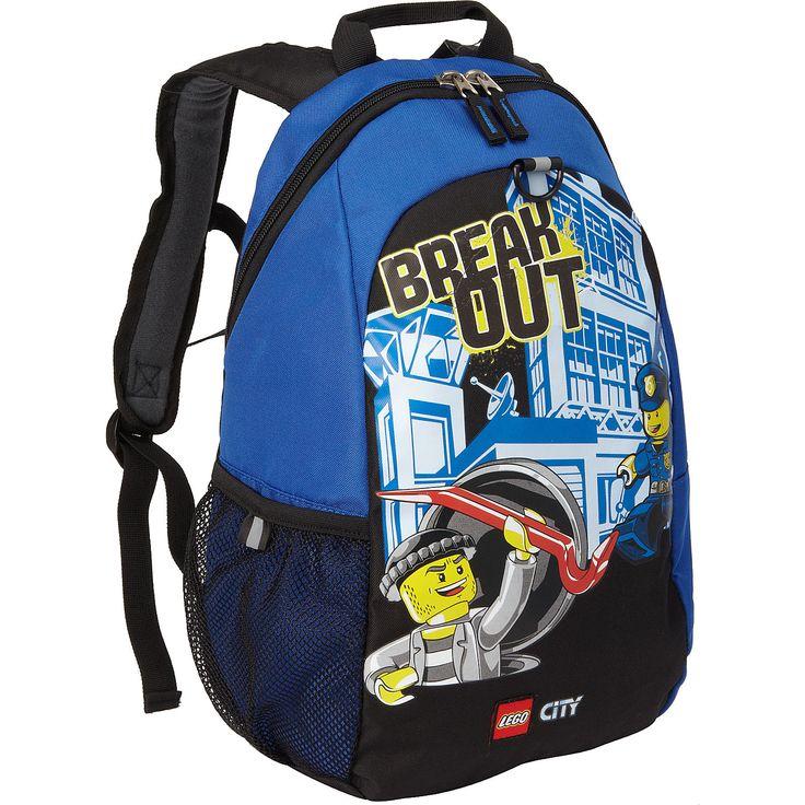 LEGO LEGO Heritage Basic Backpack City Police Break Out - eBags.com