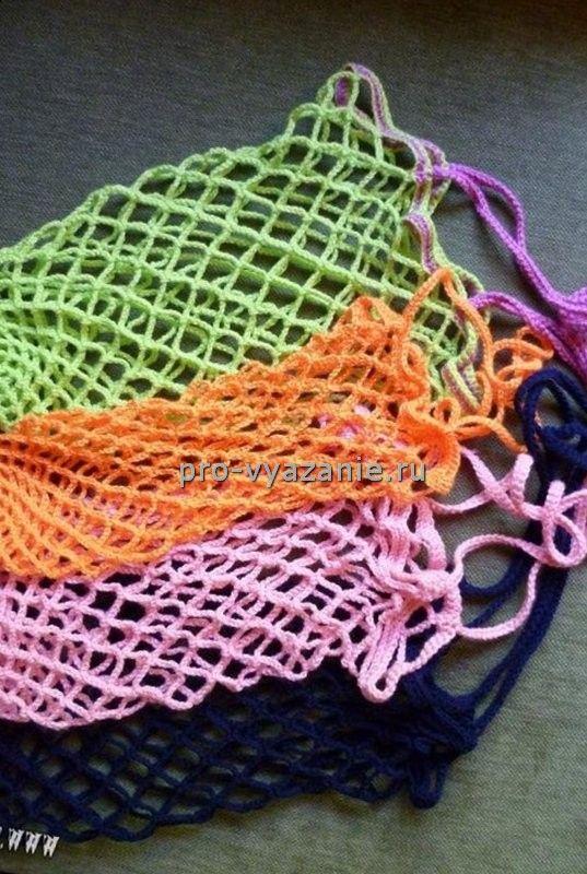 Авоська крючком | Про вязание: вязаная одежда и аксессуары своими руками