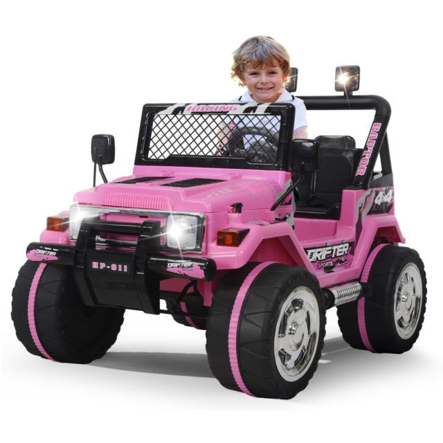 Kids Ride On Car Jeep 12v Electric Wheels Remote Control Mp3 Led Light Toy Toy Cars For Kids Kids Ride On Kids Ride On Toys