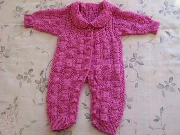 örgü bebek tulumu (1)