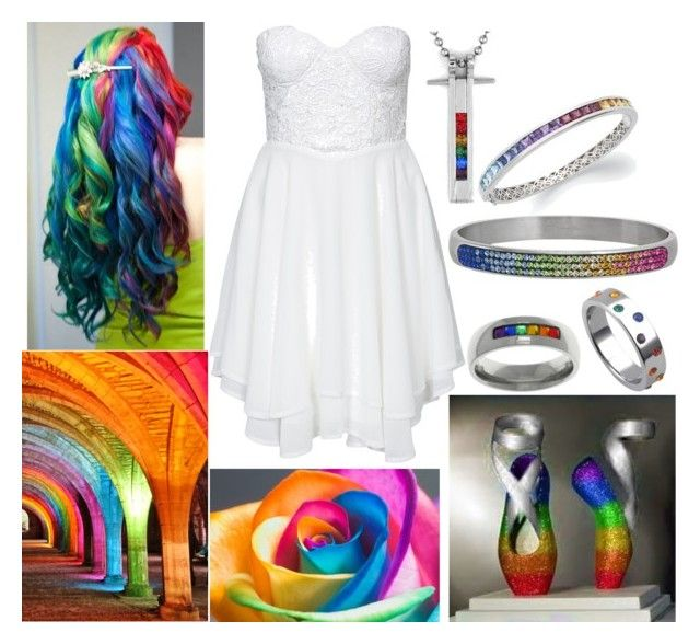 """""""Pride Ballerina"""" by disney-princess-0719 ❤ liked on Polyvore featuring Te Amo, Carolina Glamour Collection, JewelGlo and West Coast Jewelry"""